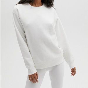 Aritzia Crew Sweatshirt - Heather Grey - Medium
